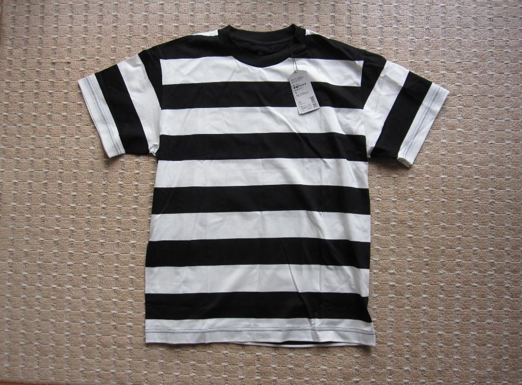 """春コーデのマストアイテム。無印良品の新作""""ボーダーTシャツ""""が"""